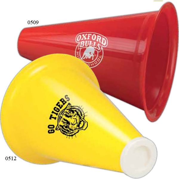 Megaphone With Popcorn Insert Photo