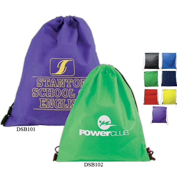 Drawstring Backpack With 100% Non-woven Polypropylene, 50 Grams Photo