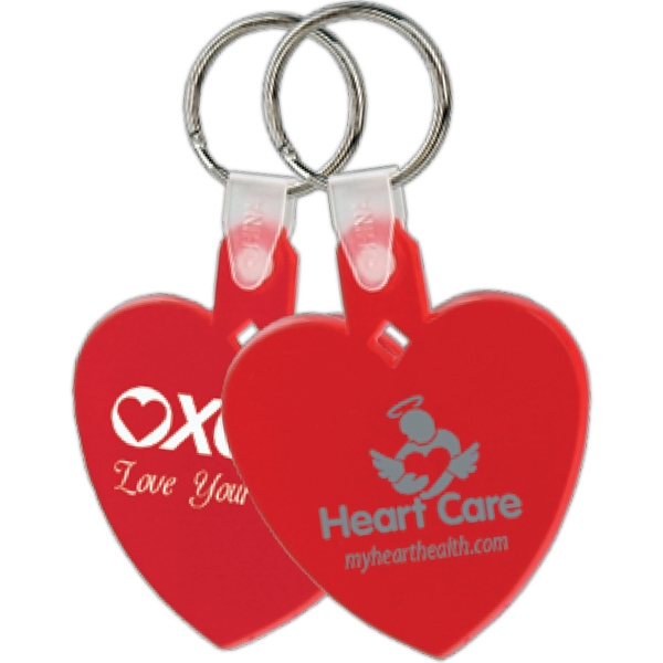 Heart - Soft Key Tag Photo