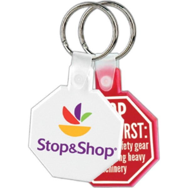 Stop Sign - Soft Key Tag Photo