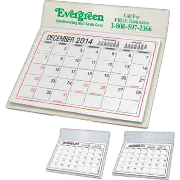 Desk Calendar With Mailing Envelope Photo