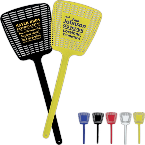"Tapered Shaped 16"" Fly Swatter. 5"" X 16"" Photo"
