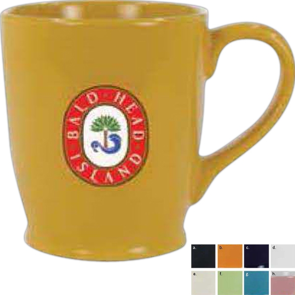 Cup O'cheer - Ceramic Color Mug 17 Ounces. Excluding Orange Photo