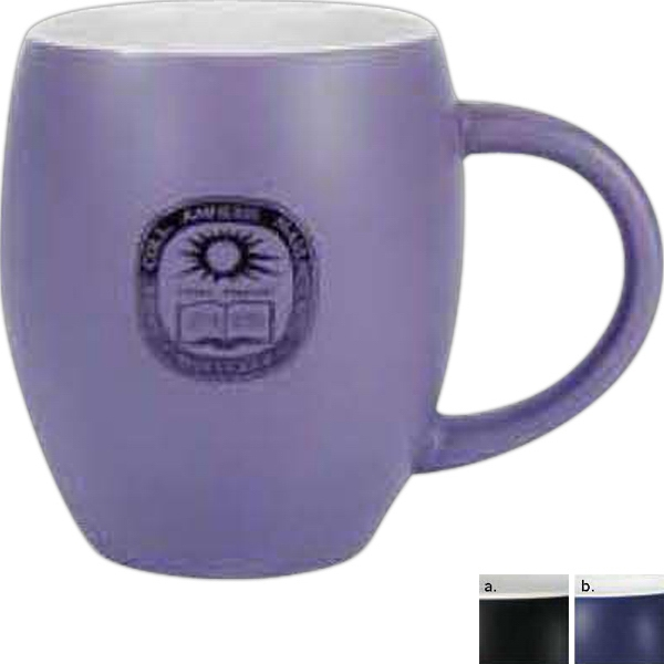 Ny Fat Boy - Matte Mug With White Interior, 16 Ounces Photo