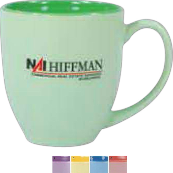 Bistro - Matte Color Pastel Mug, 16 Ounce Photo