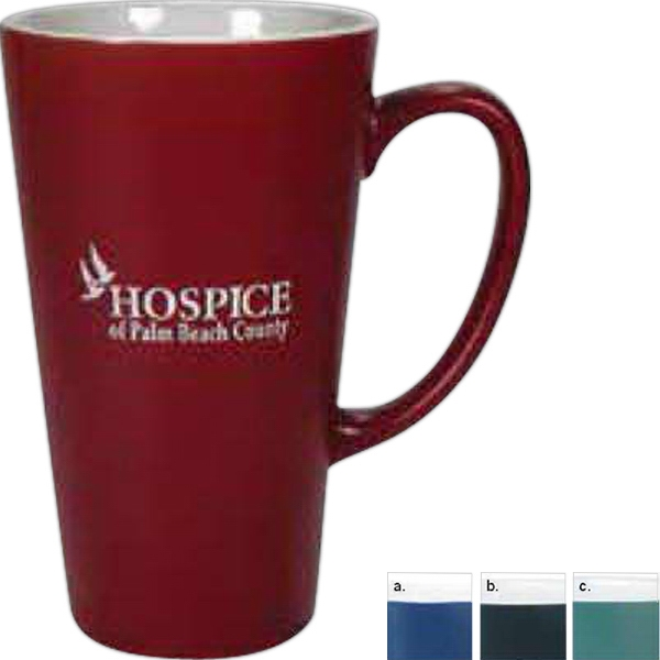 Firehouse - Matte Mug With White Interior, 16 Ounces Photo