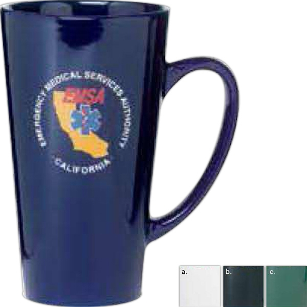 Firehouse - Cobalt Glossy - Glossy Mug, 16 Ounces Photo