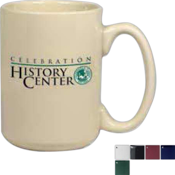El Grande - White - Ceramic Mug, 15 Ounces Photo