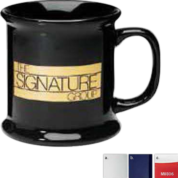 Corporate - White - Ceramic Mug, 13 1/2 Ounces Photo