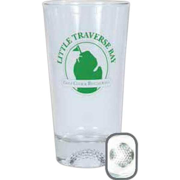 Libbey (r) - Golf - 16 Ounce Coolers With Sports Design In Base Photo