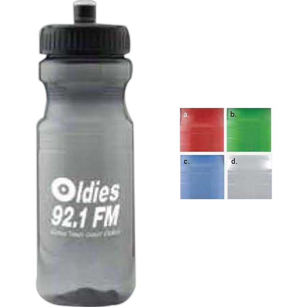 24 Oz Colored Bike Bottle Photo