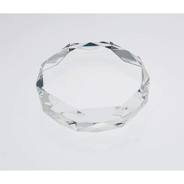 Gem Cut Crystal Paperweight