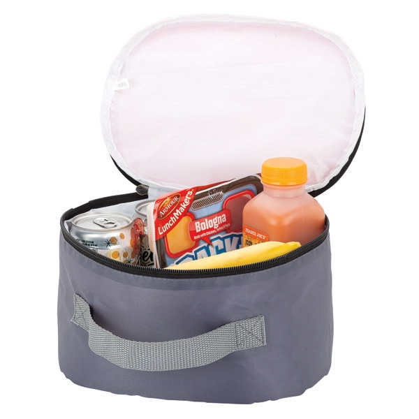 6-Can Cooler - Cooler/lunch bag, 6-can capacity.