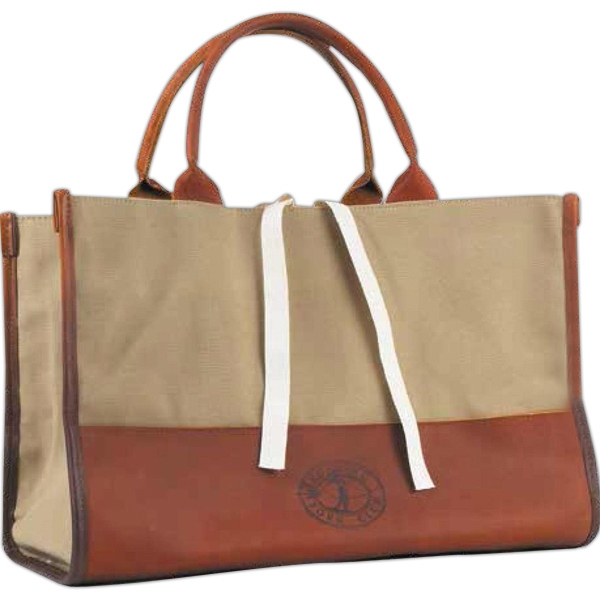 Large Leather Executive Tote