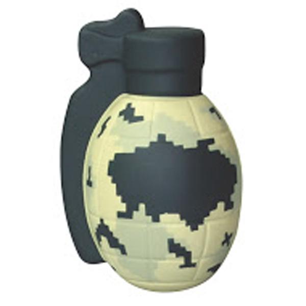 Squeezies (R) Camo Grenade Stress Reliever