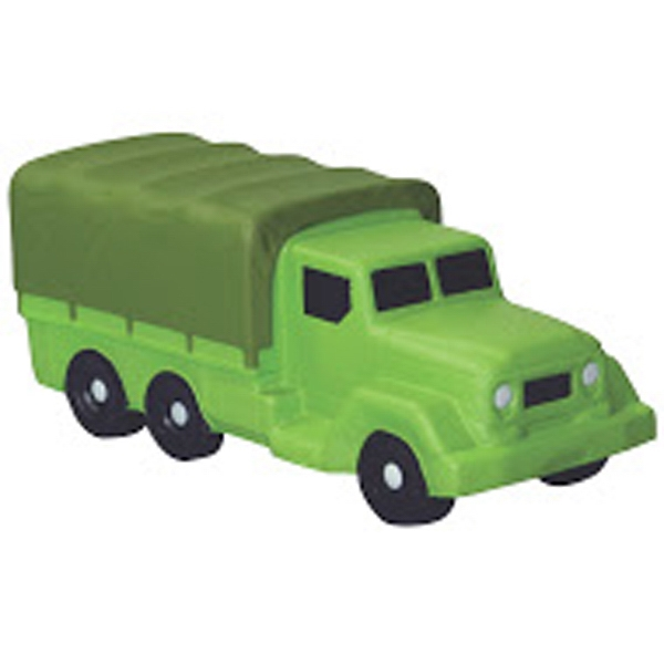 Squeezies (R) Military Transport Truck Stress Reliever