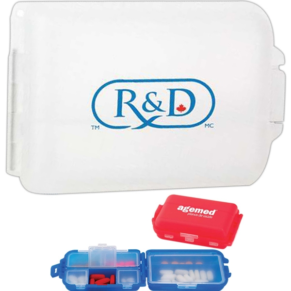 Medication, Vitamins Or Any Small Accessory Can Be Stored In This 7 Day Pill Box Photo
