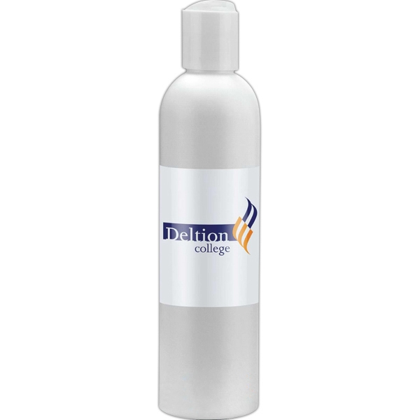 Empty White Bottle With Choice Of Secure Push Top Lid Or A Spray Top, 8 Oz. Bottle Photo
