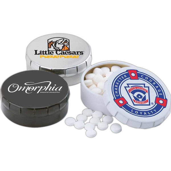 Mints - Small Round Clicker Tin Photo