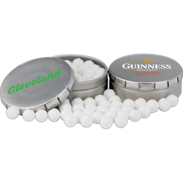 Golf Ball Mints In Clicker Tin With Your Choice Of Filler Photo