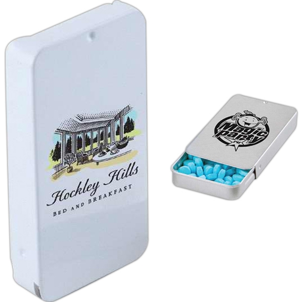 Mints - Rectangle Tin Has Tray That Slides Out Of The Case For Easy Access Photo