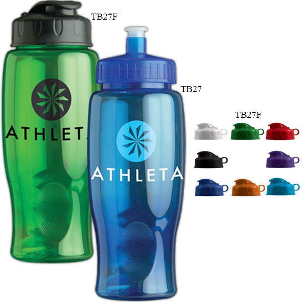 Personal Refillables (tm) - 27 Oz. Sports Bottle With Flip Top Lid Photo