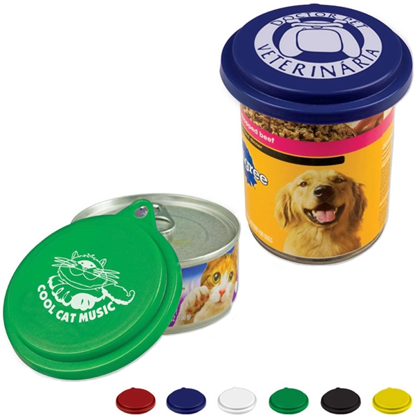 Pet Food Can Lid Photo