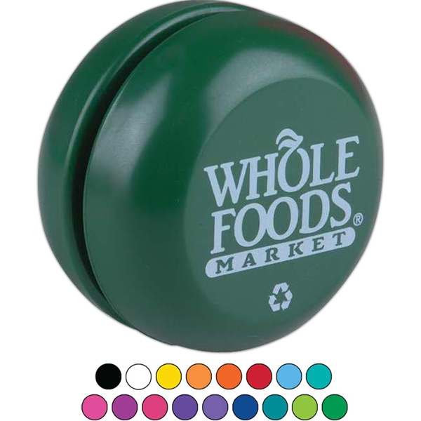 "Recycled Colors Classic Yo-yo, 2-1/4"" Diameter. Usa Made Photo"