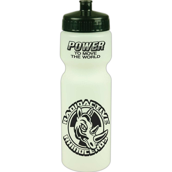 28 Oz Glow-in-the-dark Sports Bottle Photo