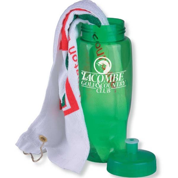 Golf Towel in a Bottle - Golf Towel in a Bottle.