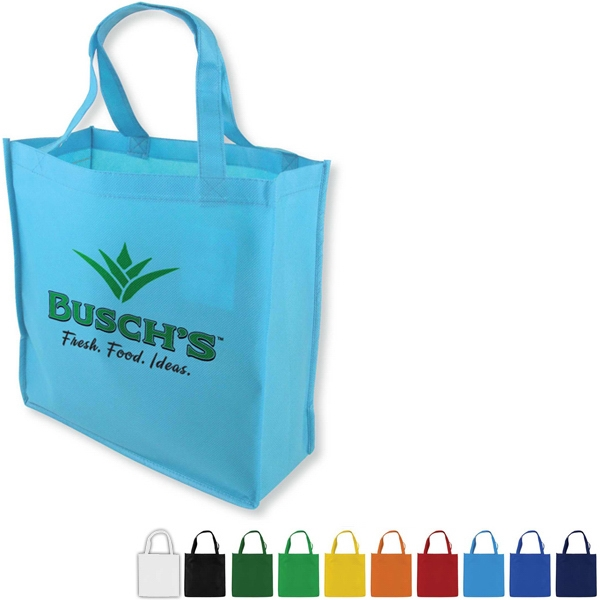 "Non-woven Polypropylene Tote Bag, 13"" X 13"" With A 18"" Handles Photo"