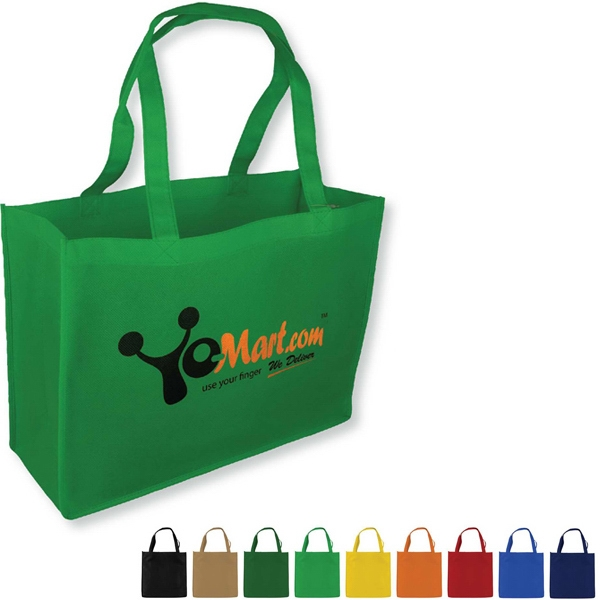"Non-woven Polypropylene Tote Bag, 16"" X 12"" X 6"" Deep With 24"" Handles Photo"