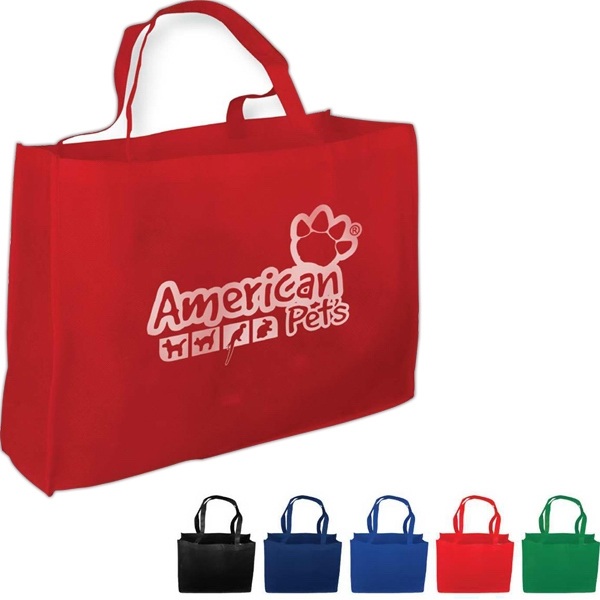 "Non-woven Polypropylene Tote Bag, 16"" X 20"" With A 6"" Gusset Photo"