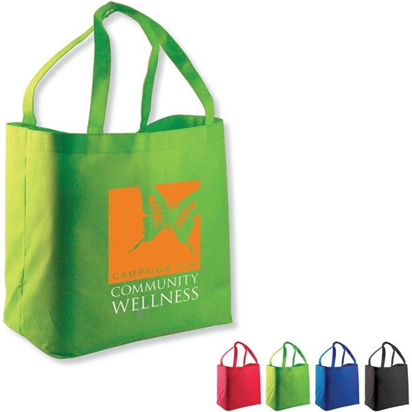 The Shopper Non-Woven Shopping Tote - Non-Woven Shopping Tote.