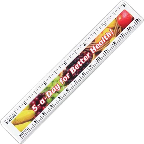 """Full Color 6"""" Ruler"""