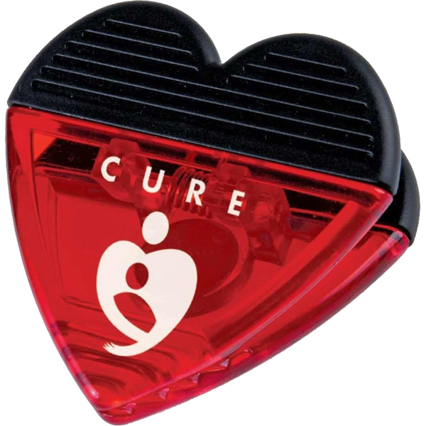 Heart - Magnet Clip With Strong Magnet Backing Photo