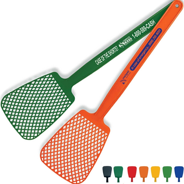 "Fly Swatter, 16"", Molded In Flexible Polyethylene For Increased Durability Photo"