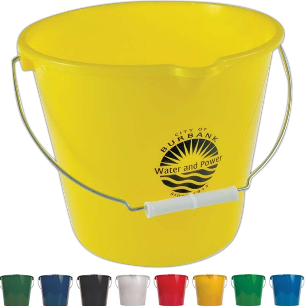 Heavy Duty 7 Quart Bucket Is Great For Home, Auto And Boat Photo