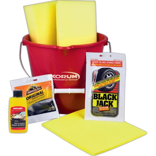 Detailing Car Wash Kit with Assorted Cleansers - Detailing Car Wash Kit with Assorted Cleansers.