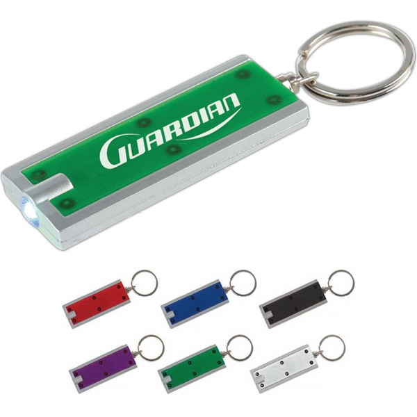 Rectangle Shaped Key Holder With Light Photo