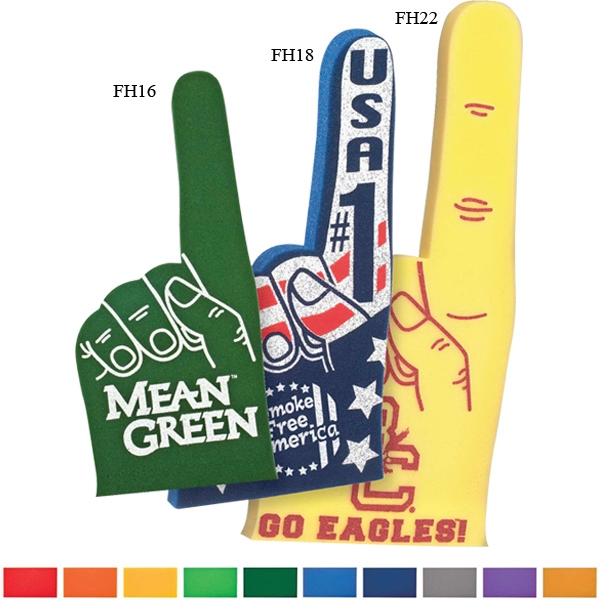 "Foam Number One Cheering Mitt, 18"" Photo"
