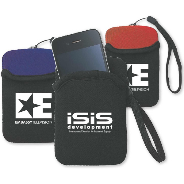 Neoprene Case Holds Cell Phone, Mp3 Player, Etc Photo