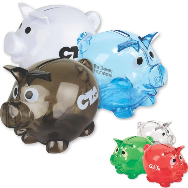 Pig Shaped Bank Photo