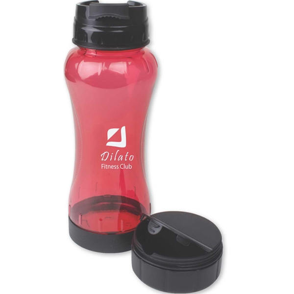 22 Oz. Water Bottle With Secure Container Photo