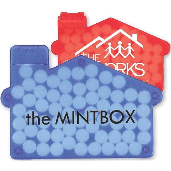House-o-mints - Spearmint Flavored Mints In A House Shaped Container Photo