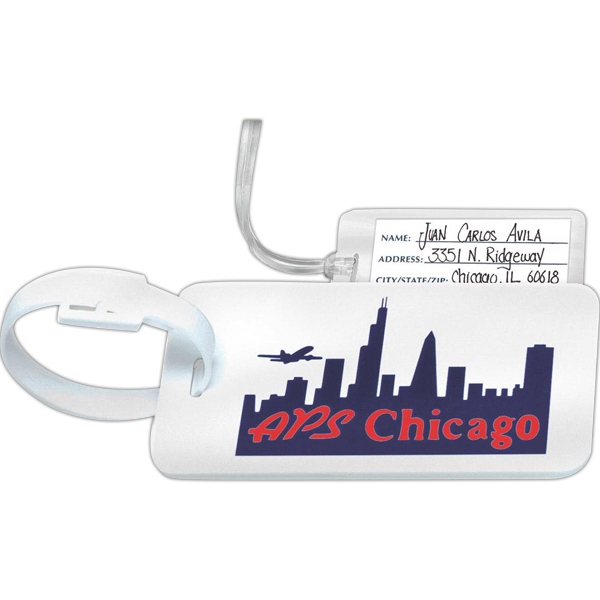 Ident-tag - Luggage Tag With Id Card Photo