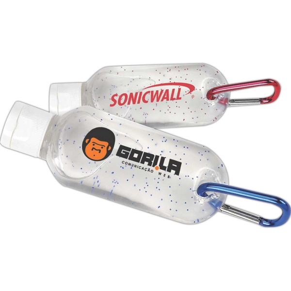 Sanitizer With Carabiner Photo