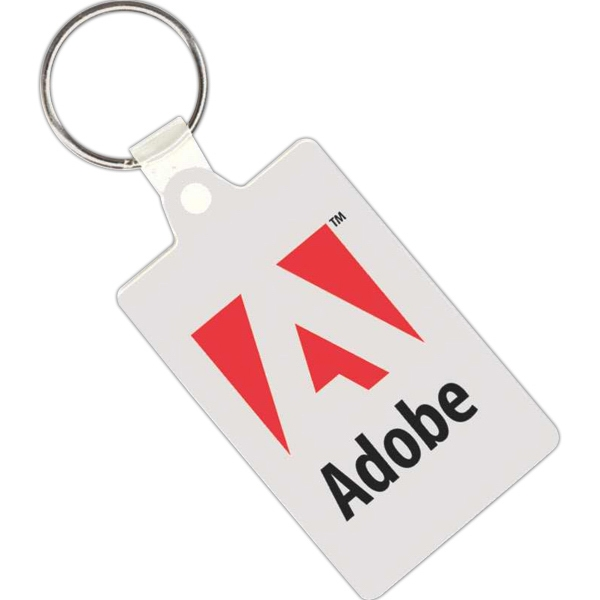 Rectangular Shaped Key Tag Made Of Vinyl Photo
