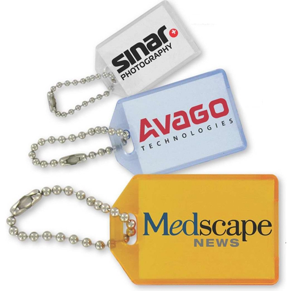 Key Tag Made Of Unbreakable Propionate Material Photo