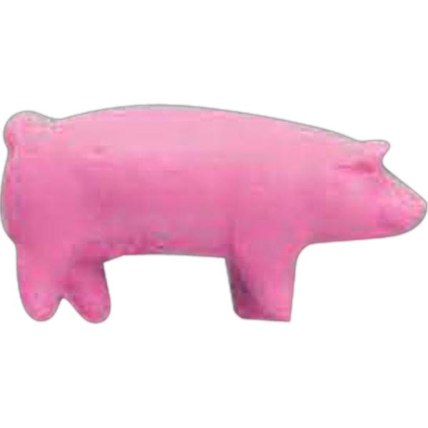 Pink Pig Pencil Top Eraser